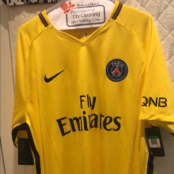 low priced 45653 2c717 2017/2018 Paris Saint Germain men's away jersey NWT